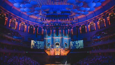 The magnificent Henry Willis organ takes centre stage at the Grand Organ Celebration