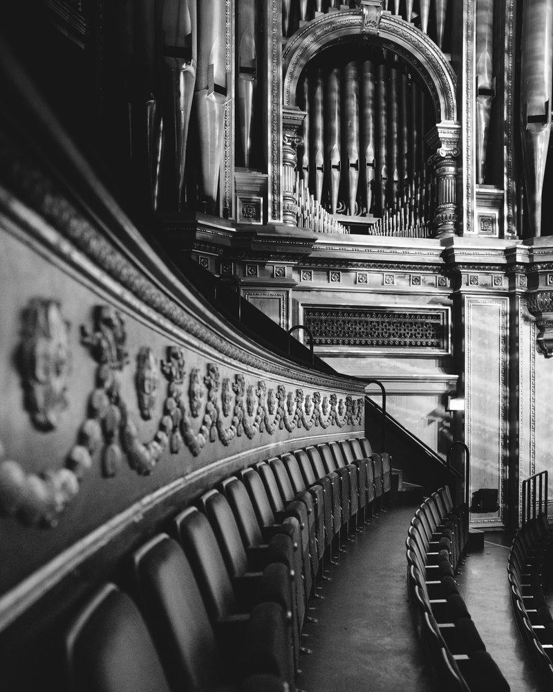 Choir seats