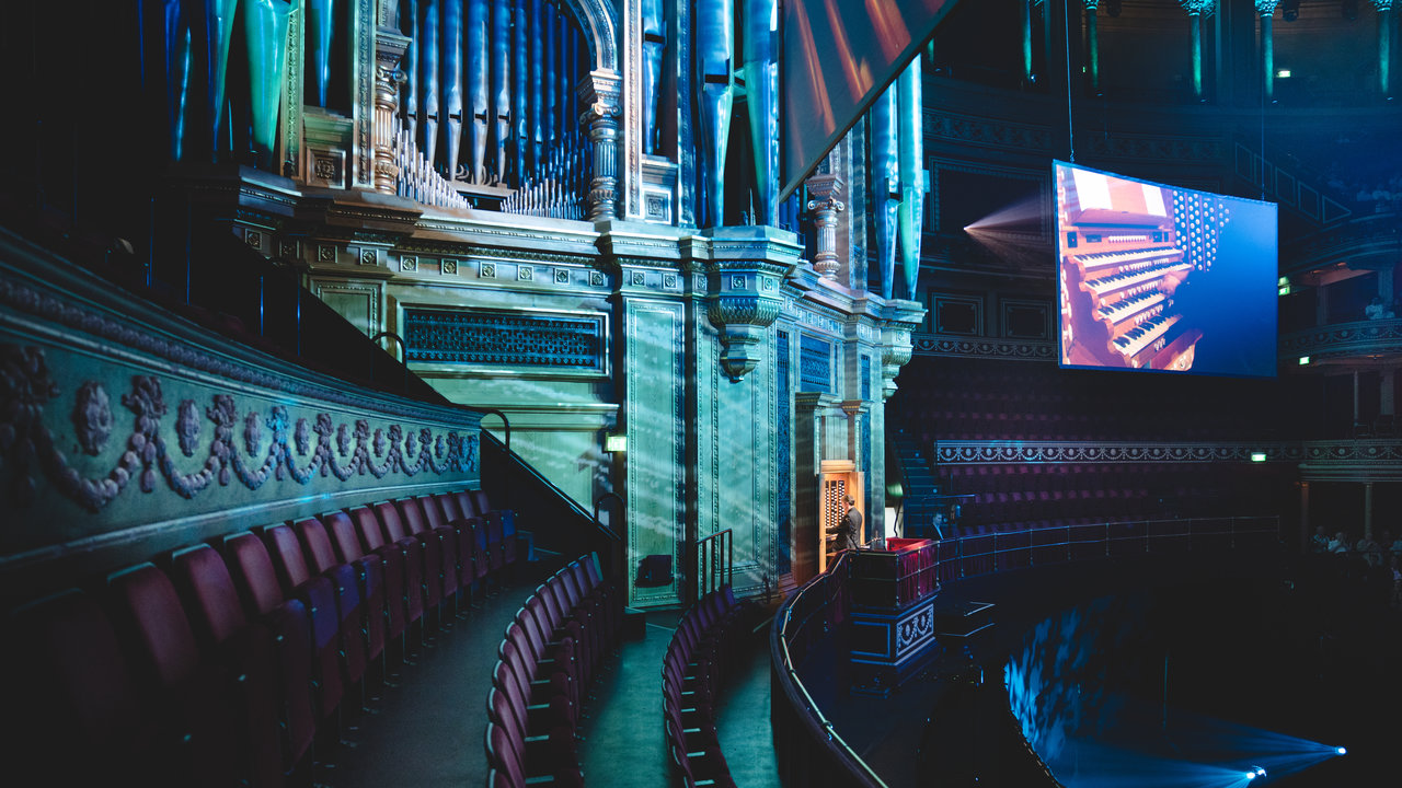 The Grand Organ Celebration at the Royal Albert Hall on Tuesday 15 May 2018