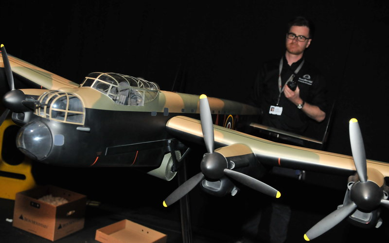 Behind the scenes at The Dam Busters with Dan Snow