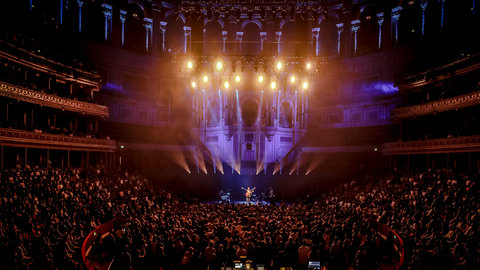 Exclusive photos: Nick Mulvey brings his biggest show to date to the Royal Albert Hall