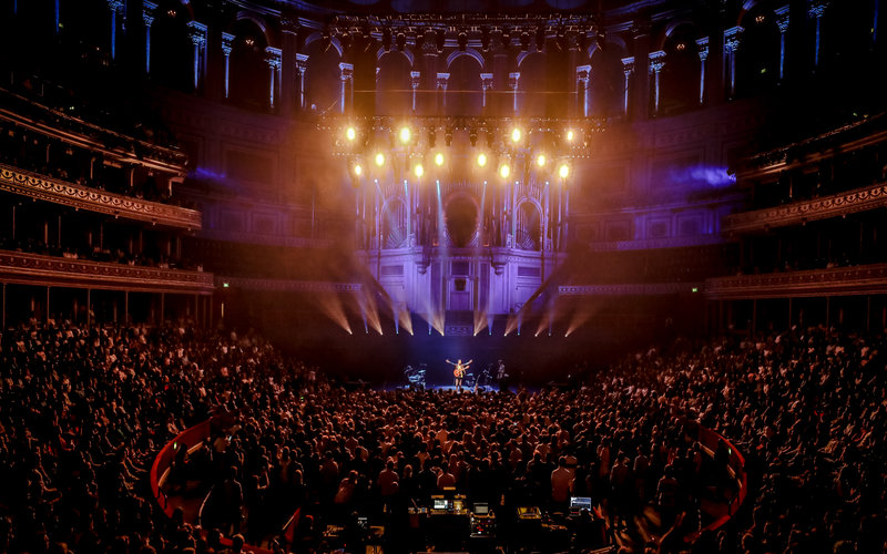 Nick Mulvey at Royal Albert Hall. Photo Christie Goodwin