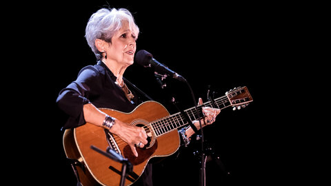 Exclusive photos: legendary artist Joan Baez bids Fare Thee Well to the Royal Albert Hall