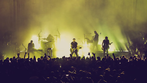 exclusive photos nine inch nails deliver an exhilarating euphoric