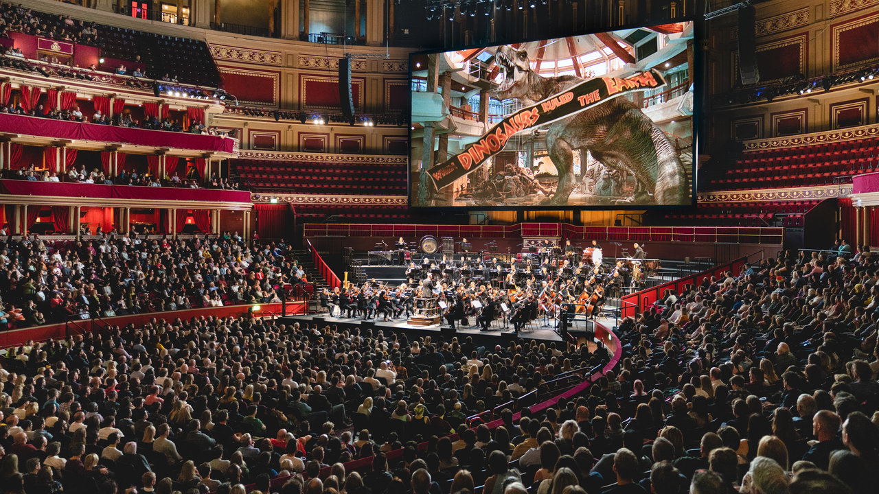 Jurassic Park in Concert returns to the Royal Albert Hall celebrating the film's 25th anniversary on Saturday 29 September 2018