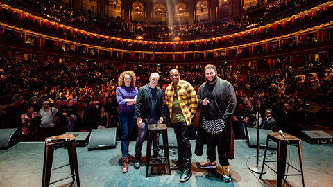 Watch: Dave Chappelle and Jon Stewart on their Royal Albert Hall debut