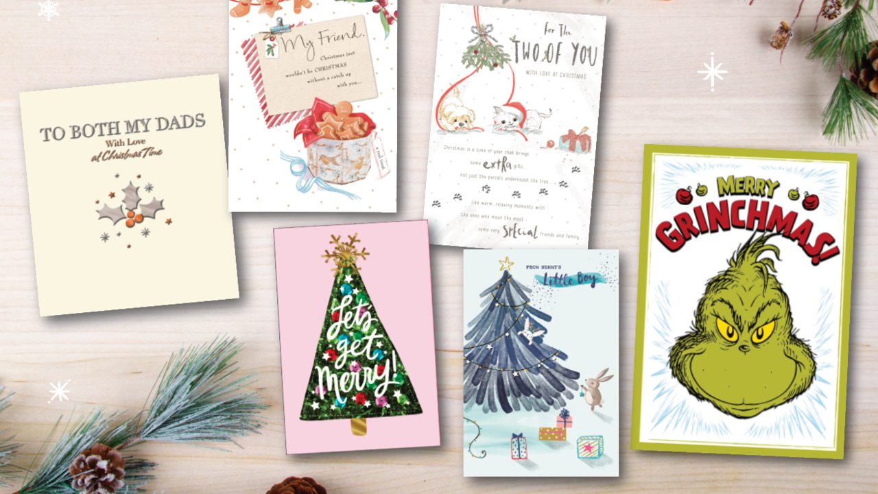 Hallmark Christmas Card exhibition