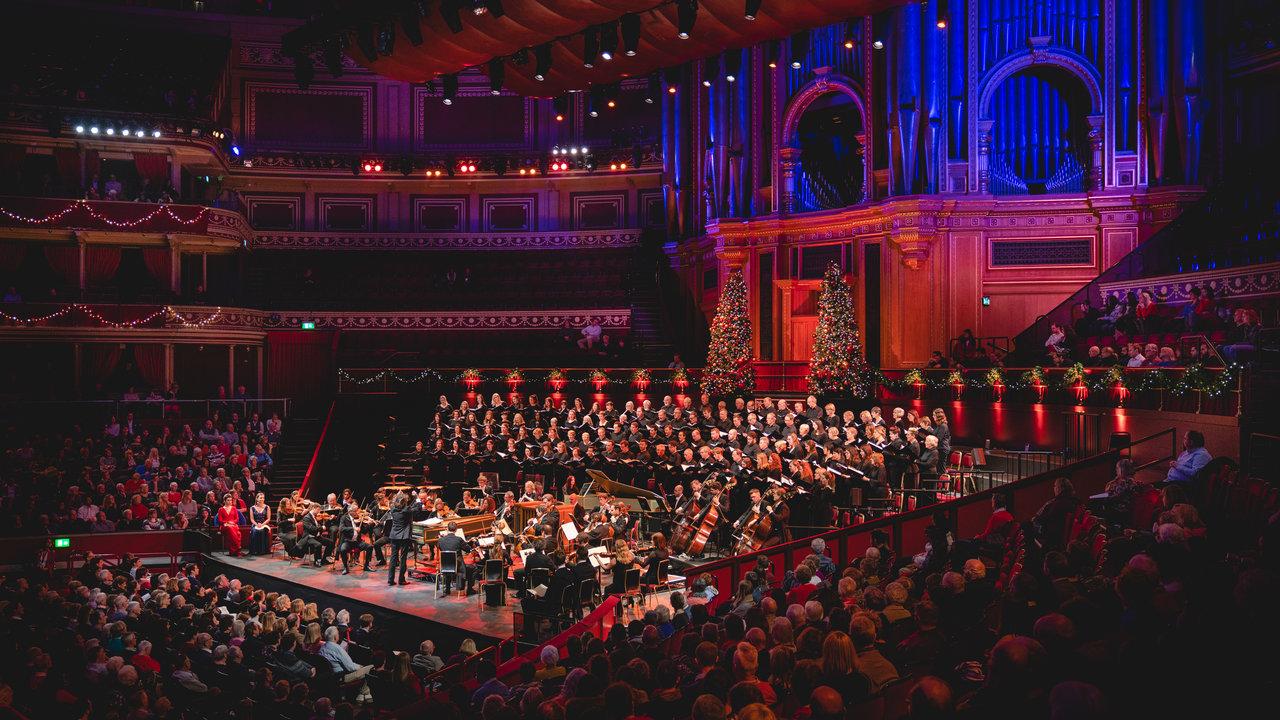Handel's Messiah at the Royal Albert Hall on Friday 21 December 2018