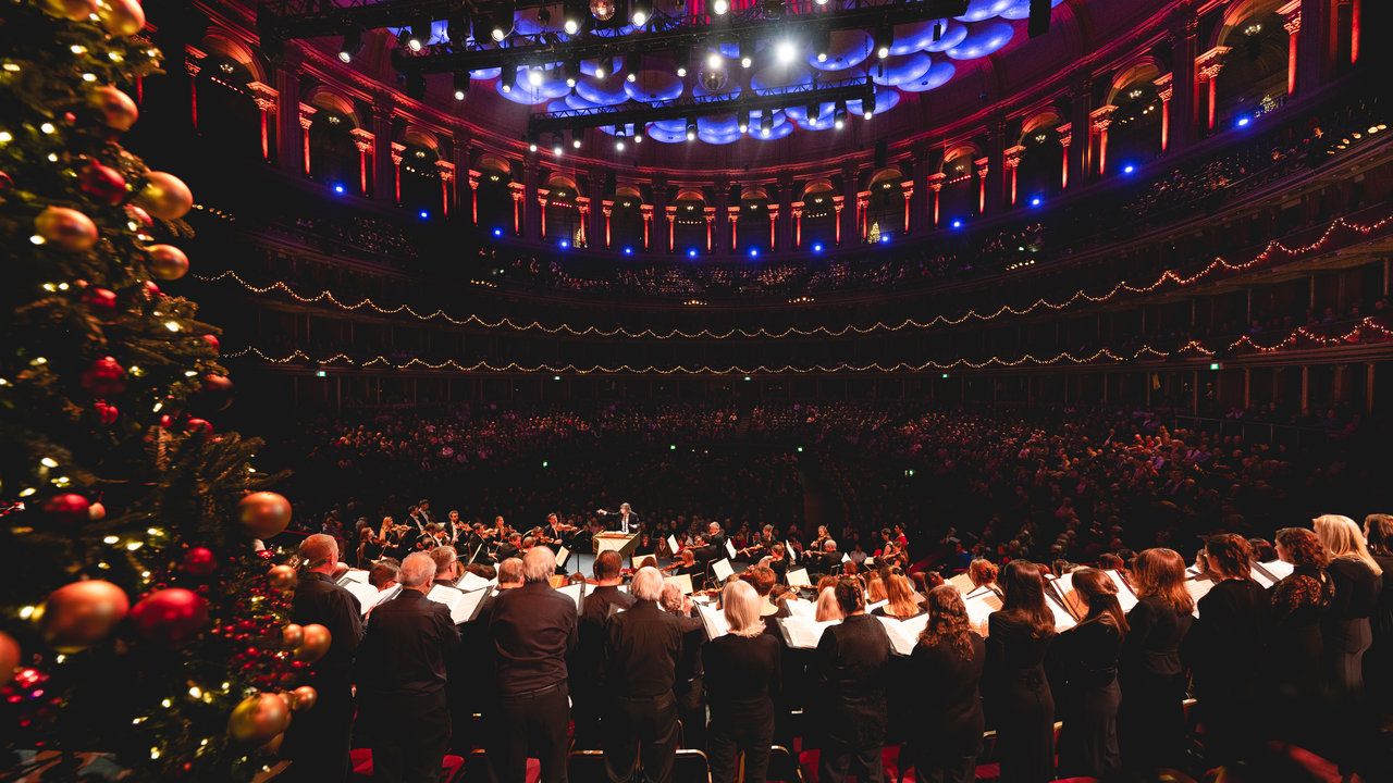 Handel's Messiah at the Royal Albert Hall on Friday 21 December 2018