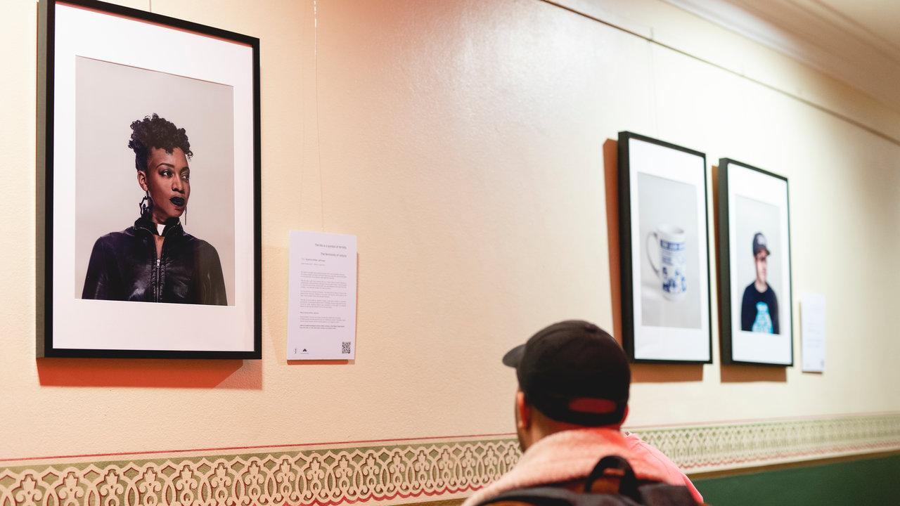 Exhibition on the Ground Floor Corridor