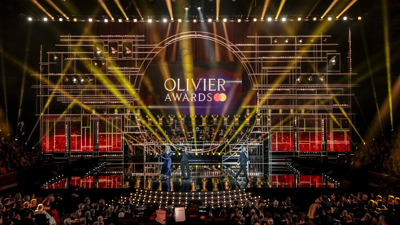 The Olivier Awards at the Royal Albert Hall on Sunday 7 April 2019