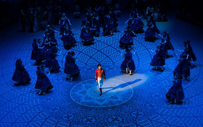 Opening night of Christopher Wheeldon's production of Cinderella with the English National Ballet on Thursday 6 June 2019 © Ian Gavan