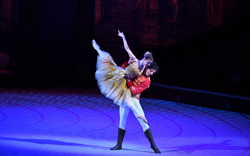 Opening night of Christopher Wheeldon's production of Cinderella with the English National Ballet on Thursday 6 June 2019 © Laurent Liotardo