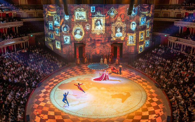 Christopher Wheeldon's production of Cinderella with the English National Ballet at the Royal Albert Hall on Saturday 8 June 2019 © Andy Paradise