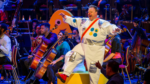 21 July 2019: CBeebies Proms – Off to the Moon at the Royal Albert Hall