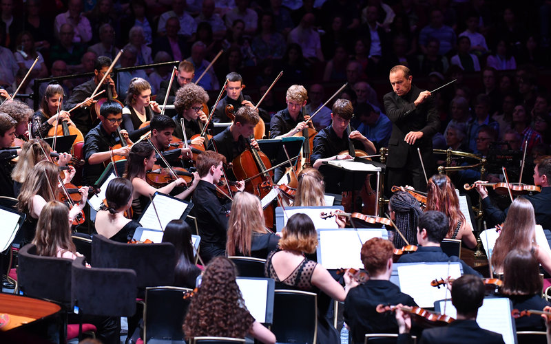 Prom 12: National Youth Orchestra at the Royal Albert Hall on Saturday 27 July 2019 © BBC / Chris Christodoulou