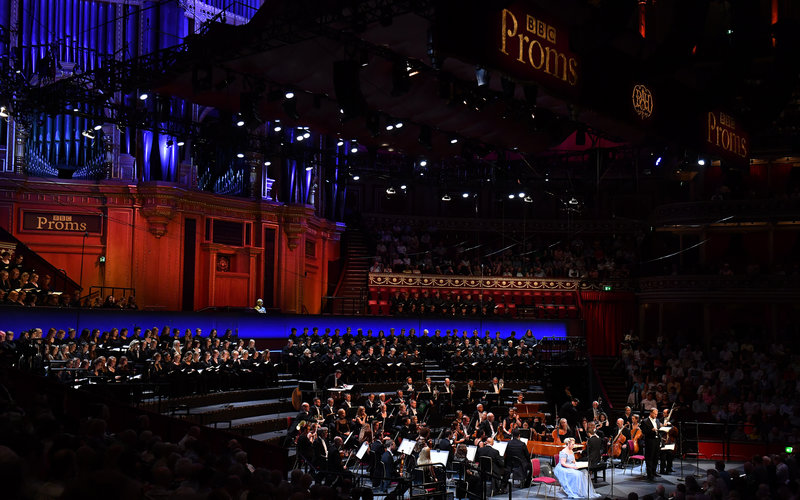 Prom 14: The Creation at the Royal Albert Hall on Monday 29 July 2019 © BBC / Chris Christodoulou
