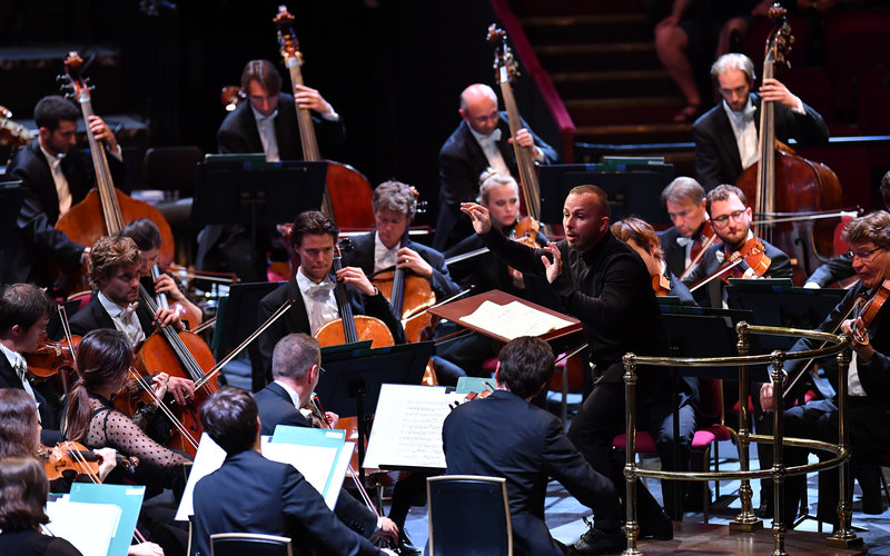 Prom 15: Bavarian Radio Symphony Orchestra I at the Royal Albert Hall on Tuesday 30 July 2019 © BBC / Chris Christodoulou