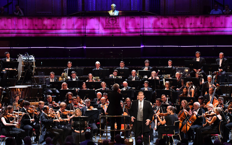 Prom 18: Mahler and Britten at the Royal Albert Hall on Wednesday 1 August 2019 © BBC / Chris Christodoulou