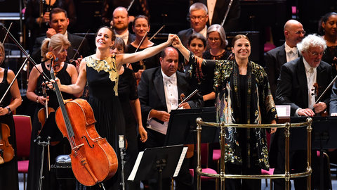 BBC Proms 2019: Dalia Stasevska and the BBC Symphony Orchestra celebrate Tchaikovsky, Sibelius & Weinberg