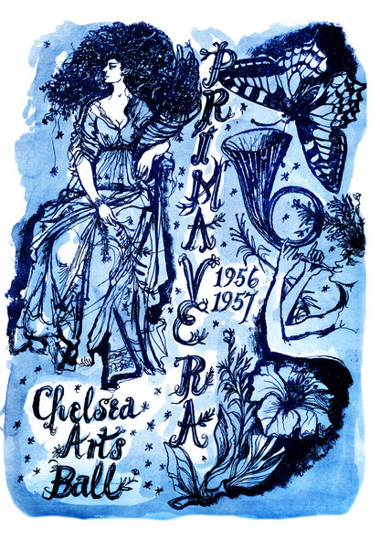 Programme cover from the annual Chelsea Arts Club Ball