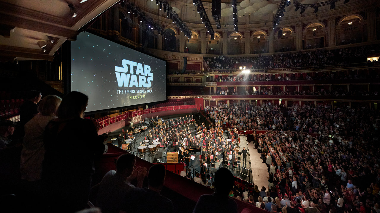 Star Wars: The Empire Strikes Back in Concert Star Wars: The Empire Strikes Back in Concert at the Royal Albert Hall on Saturday 21 September 2019