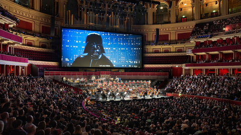 Photos and reaction: Star Wars returns to the Hall as The Empire Strikes Back