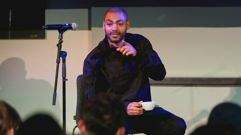 Industry insights: Kano returns to the Hall to lead Albert Sessions production workshop with aspiring young musicians