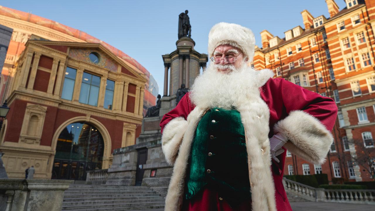 Father Christmas at the Hall at the Royal Albert Hall on Sunday 08 December 2019