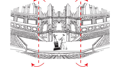 Build your own Royal Albert Hall puppet theatre