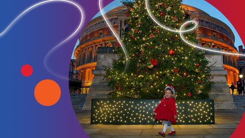Happy Christmas from the Royal Albert Hall