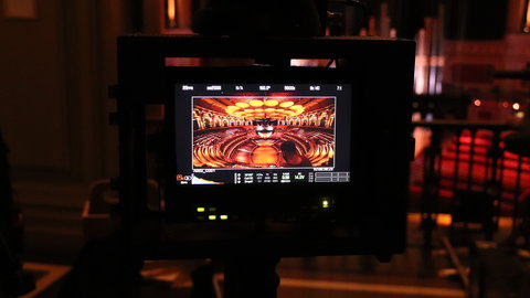 Behind the Scenes: making a film at the Royal Albert Hall